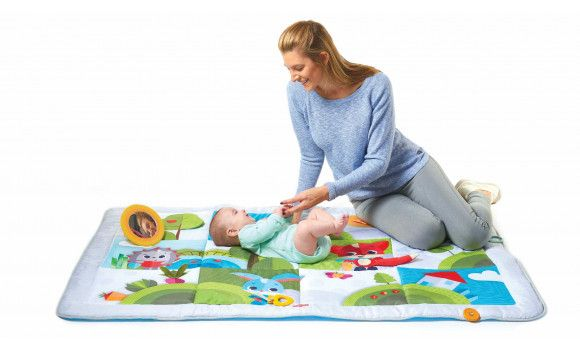 Large Baby Play Mat Meadow Days Tiny Love Super Mat