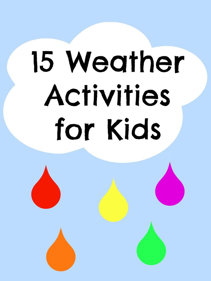 48 best images about Weather Activities on Pinterest | Clip art ...