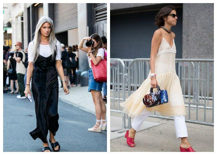 Летние платья и сарафаны в бельевом стиле: тенденции 2017