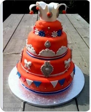 Koningsdag taart |  King's day cake