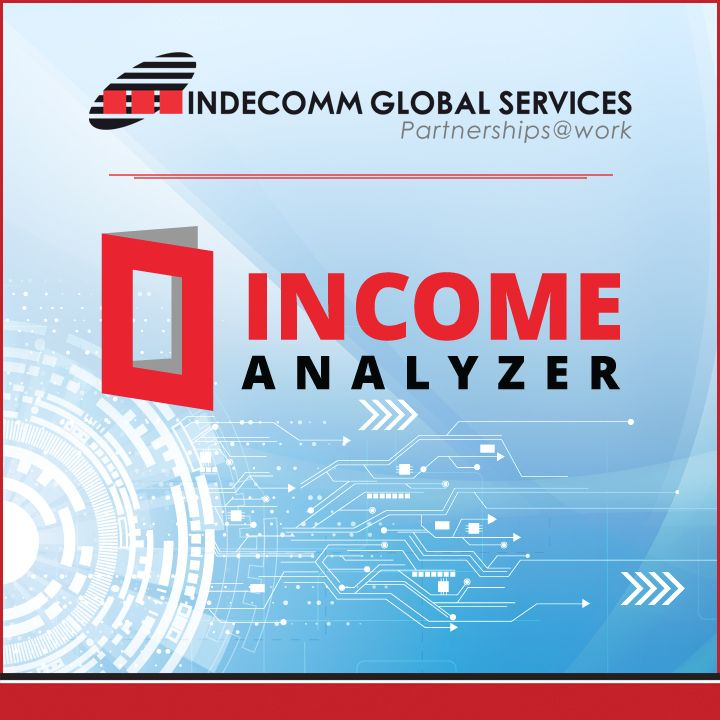 Indecomm is pleased to announce the launch of its new Income Analyzer microsite at: http://www.indecomm.net/IncomeAnalyzerApp/. Visit to learn more about Indecomm's solution for income documentation and calculation.