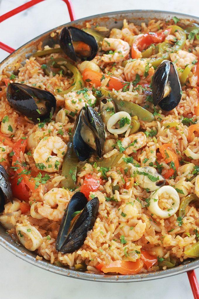 Riz Aux Fruits De Mer Surgeles Et Legumes Recette Recettes De Cuisine Plats Complet Fruits De Mer