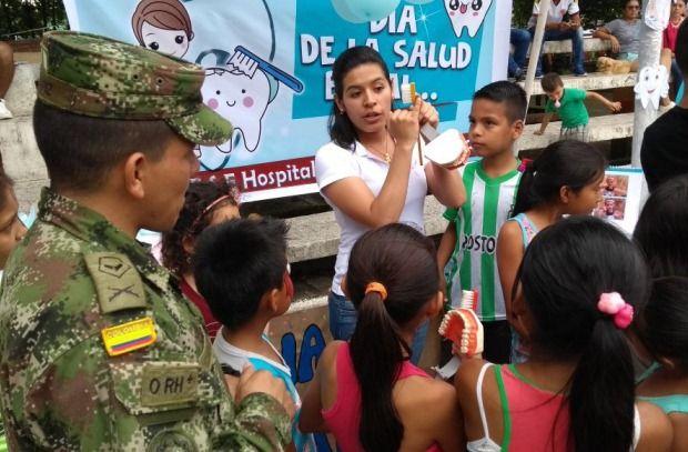 Los héroes que a diario contribuyen a la seguridad del territorio, el Ejército Nacional le está apostando a la consolidación y estabilización del Putumayo