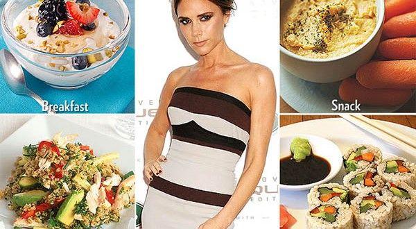 Dieta Victoria Beckham pe 3 faze cu alimente alcaline