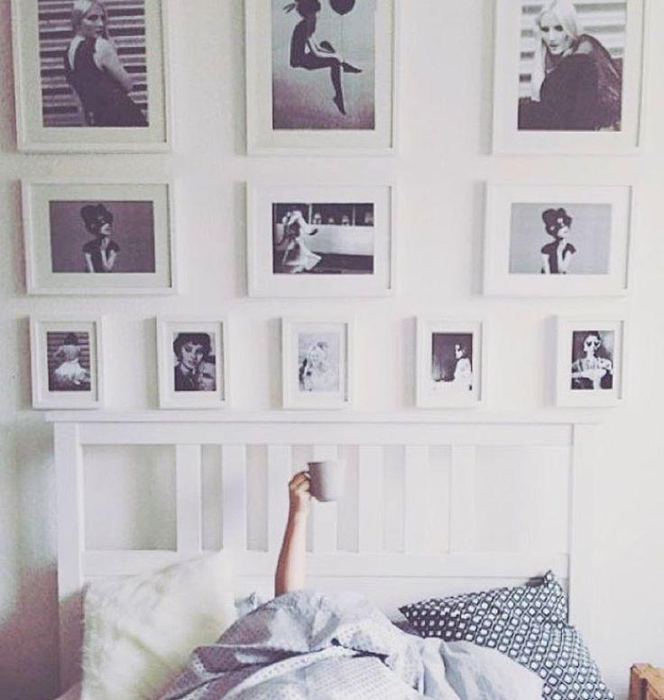 157 best Gallery Wall Ideas images on Pinterest Picture walls - schwarz weiß wohnzimmer