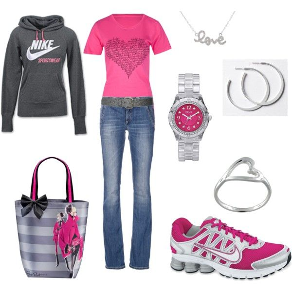 LOVE the shoes!! Nike casual =)