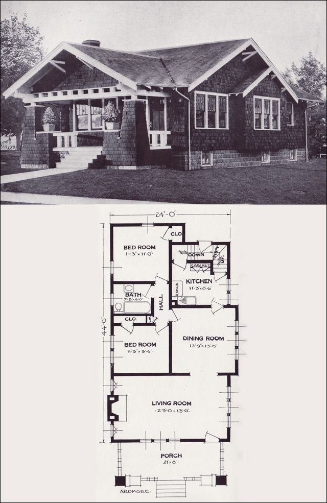 1923 Standard Homes Company The Ardmore