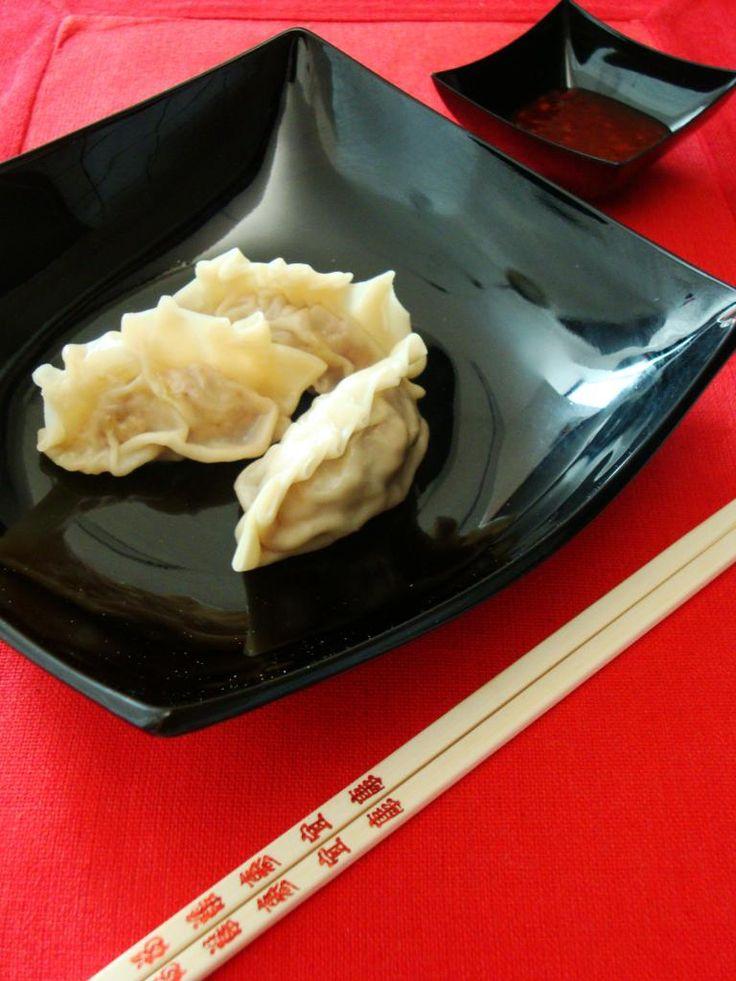 le ricette in cucina di patatina: ravioli cinesi al vapore