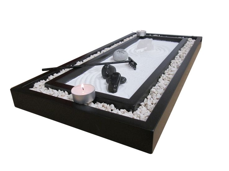 Jard n japones ryoan ji gardens mini zen garden and for Jardin zen miniature