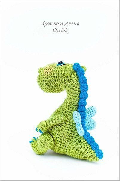 Купить Дракончик - дракон, вязаный дракончик, вязаная игрушка, подарки к праздникам, символ 2012 года