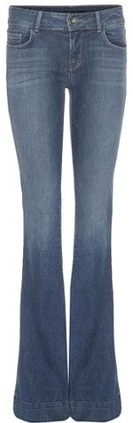 J Brand The Lovestory Flared Jeans