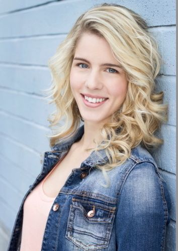 Emily Bett Rickards is perfect as Haven Haggarty in Love at the 20-Yard Line - a football romance by Shanna Hatfield.