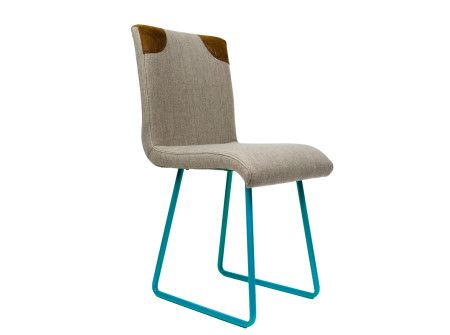 Krzesło na płozach - unikalny produkt polskiej pary projektantów Gie El  http://gotowewnetrza.pl/sklep/krzeslo-na-plozach-1/