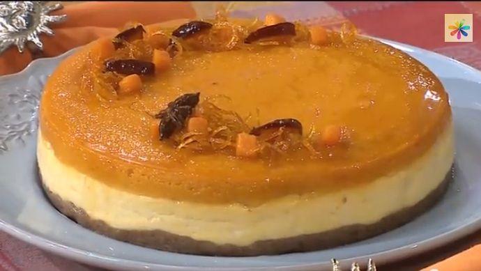 Рецепты Лизы Глинской. Тыквенный чизкейк