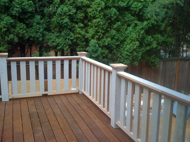 Deck finish