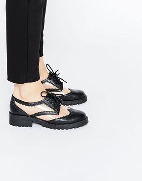 nike dance sneakers fashion for women ASOS MY OH MY! Lace Up Flat Shoes | 2015 Clothes |  | Asos, Flat Shoes and Zapatos