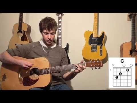 Cours guitare pour grand débutants LES 4 ACCORDS MAGIQUES (suite 1) avec rythme Feu de camps PREPA - YouTube