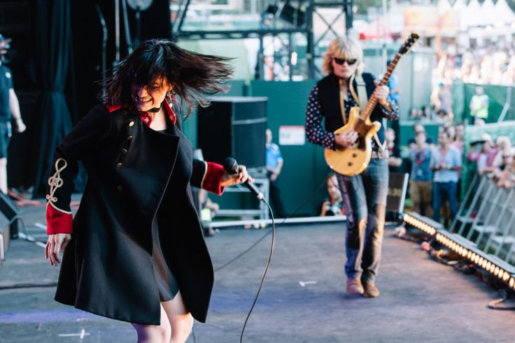 The Preatures - Triple J's Beat the Drum concert -with Mark McEntee