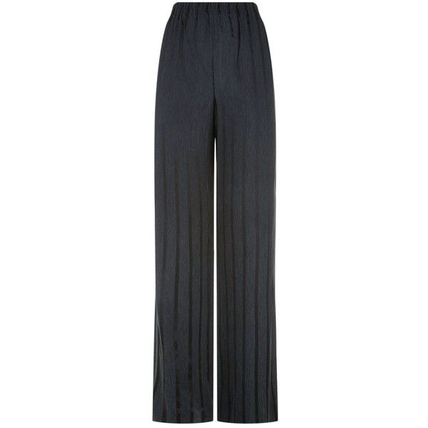 Alexander Wang Striped Pajama Trousers (12,835 MXN) ❤ liked on Polyvore featuring intimates, sleepwear, pajamas, striped pyjamas, alexander wang, striped pjs, striped jersey and striped pajamas