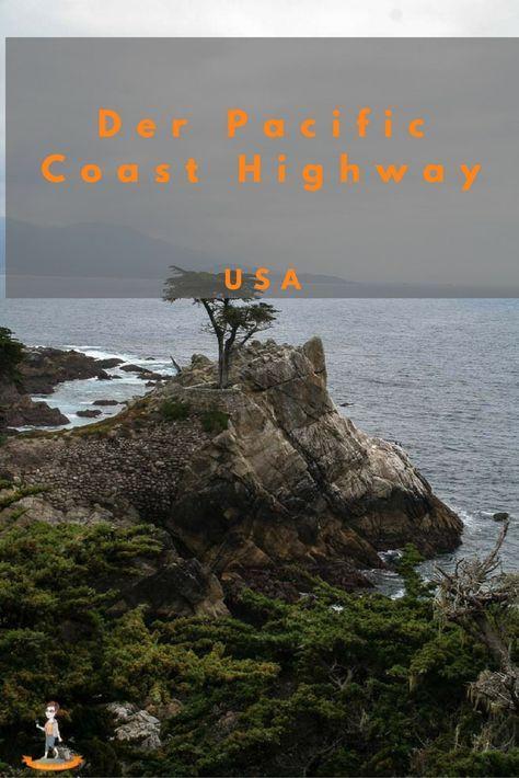 Entlang des Pacific Coast Highway von San Francisco nach L.A.