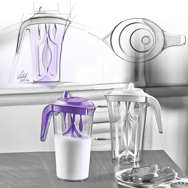 LUCID - Mixing Pitcher (for Irak.Plastics)