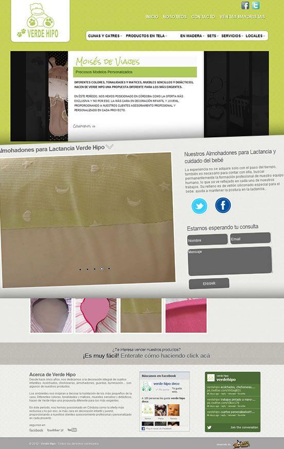 Verde Hipo: nueva web http://www.verdehipodeco.com/