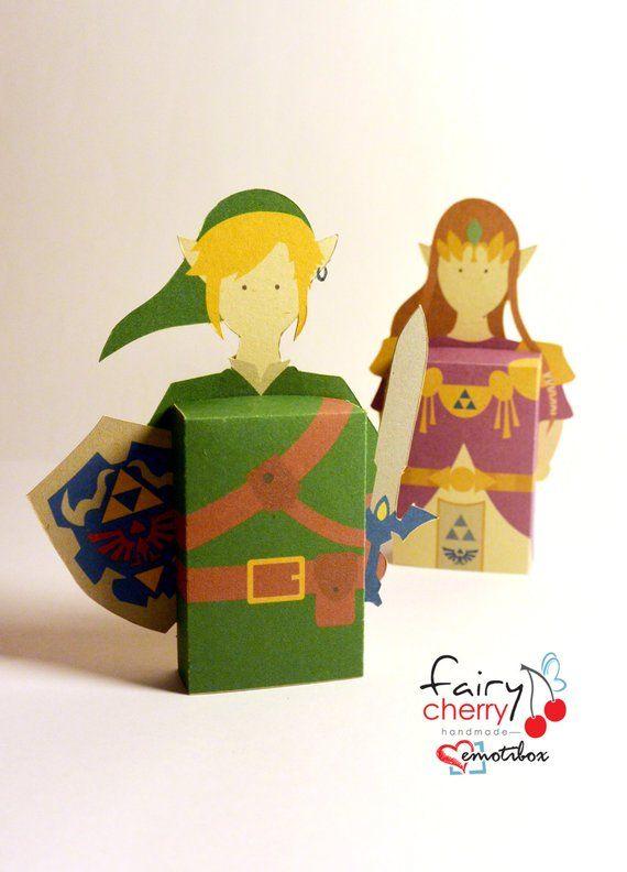 Zelda Link 3d Greeting Card Emotibox Fridge Magnet Geek Card Birthday Card Zelda Card Birthday Card Wedding Card Bir Zelda Birthday Birthday Cards Cards