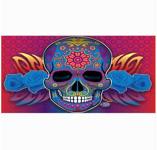 Hot new item just added today Sugar Skull Beach.... Click here http://everythingskull.com/products/sugar-skull-beach-towel-100-bamboo-fiber-swimming-towel?utm_campaign=social_autopilot&utm_source=pin&utm_medium=pin take a closer look.