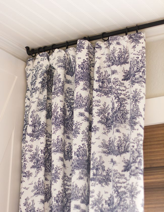 Master Makeover: New Curtains DIY $12 rod Happy Thursday! Before showing you this week's progress, I have some exciting news…Our sunroom was voted as the winner of Readers.com's DIY Book Nook Contest! Thank you all SO muc…