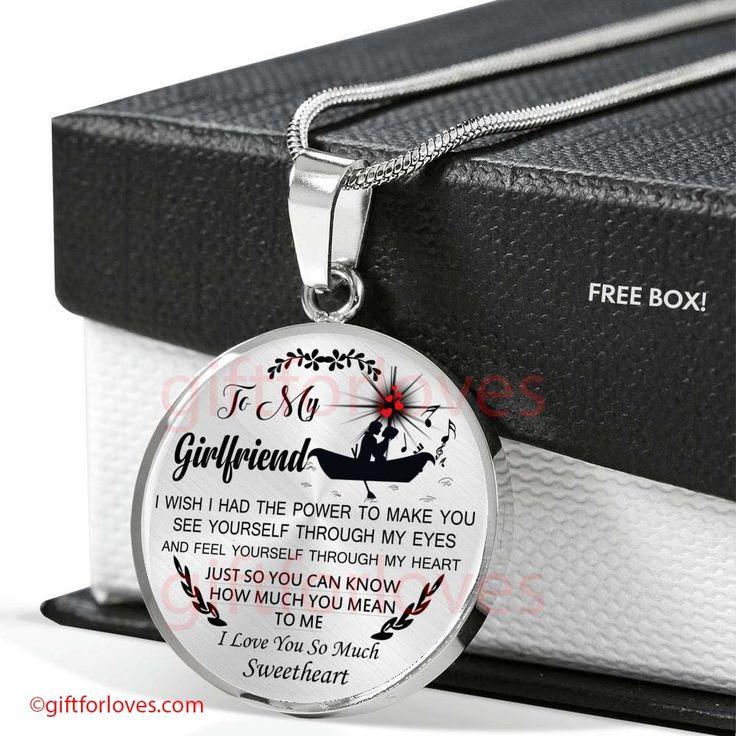Girlfriend Gift Girlfriend And Boyfriend Necklace First