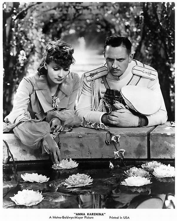 "Greta Garbo and Fredric March in ""Anna Karenina"""