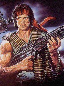 Sylvester Stallone John Rambo First Blood 1982