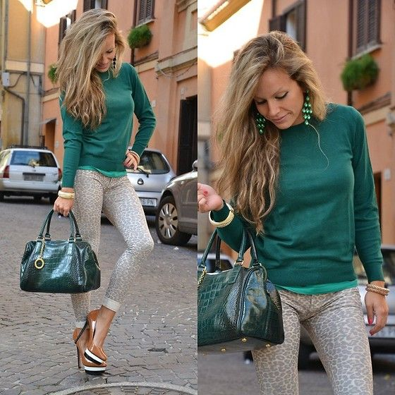 Zara Pullover, Arcadia Bag, Pull & Bear Pull&Bear Jeggings