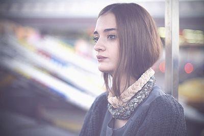 velvet necklace