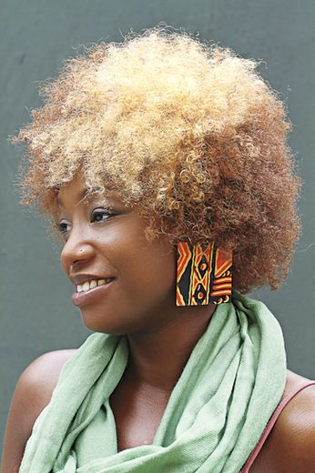 Street Style I Love My Natural Hair Colored HairNatural Black