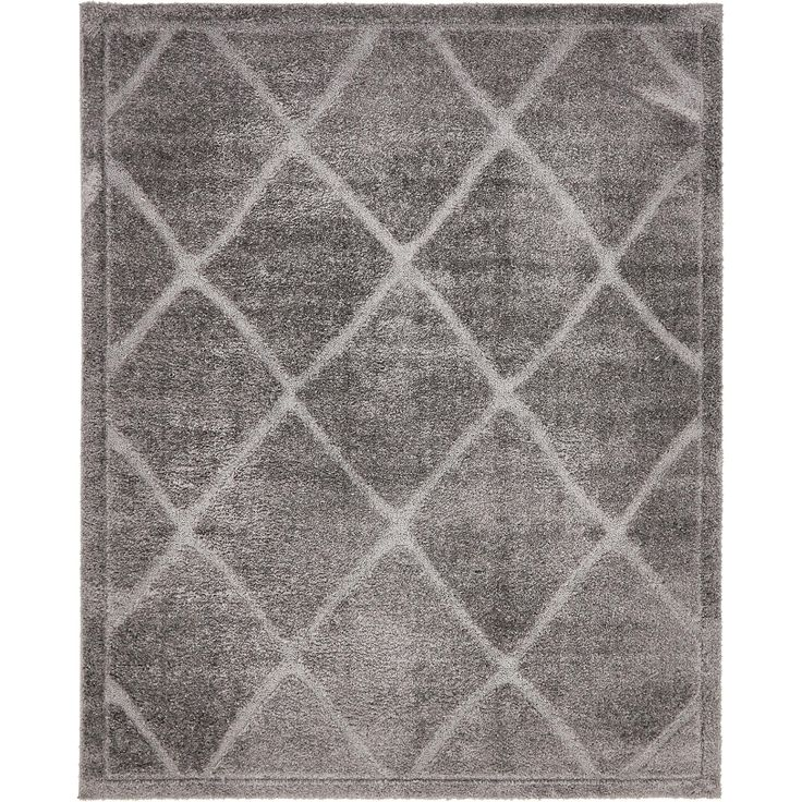 how to clean a white shag rug