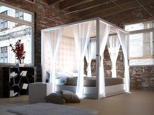 Cibinlikli yatak odası düşüncesi standardın dışında farklı bir tarz aradığınızın bir göstergesidir. Cibinlikli Yatak Odası