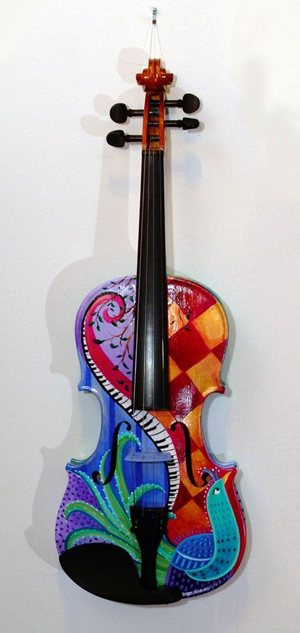 Miss playing the violin. Also, this is really awesome.