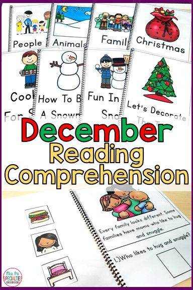Students will love to practice reading comprehension, listening comprehension and answering WH questions with these short texts. There are pictures or visual choices that help students of all levels demonstrate their knowledge. This set has 3 different topics included: Christmas books, winter books and books about families. This set is just what every special education class, life skills program, speech therapists, RTI, remedial reading and self-contained program needs.