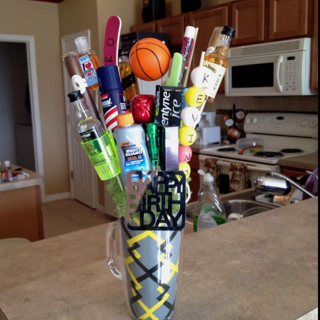 Movie Night Bouquet With Drinks: 9 Best Sports Themed Gift Baskets Images On Pinterest