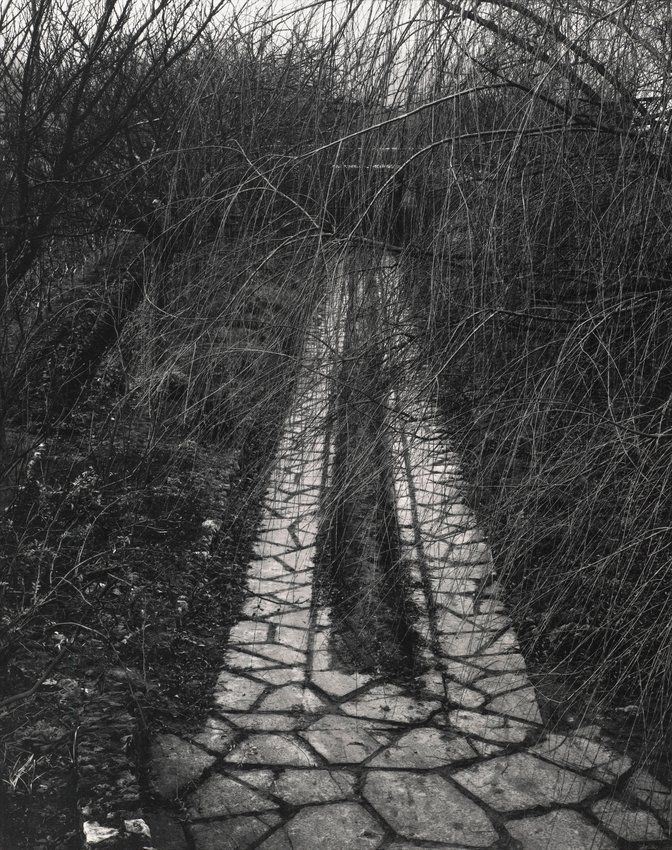 Paul Strand, 'Driveway, Orgeval, France, from the portfolio The Garden', 1957; printed 1976