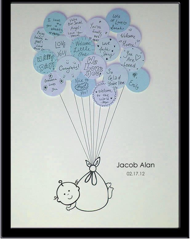 baby shower guest book baby shower ideas pinterest