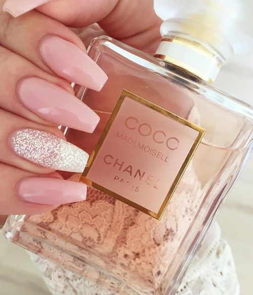 Shared by pinkblushcakes. Find images and videos about nails, pink and chanel on We Heart It - the app to get lost in what you love.