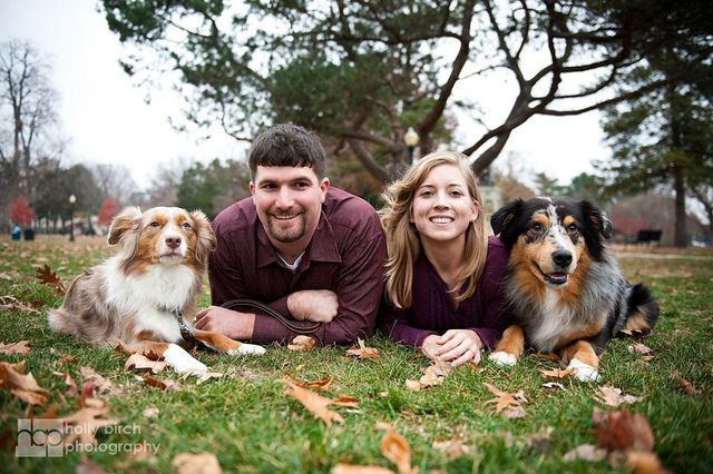 Jessica + Dan | Engagement session with dogs | Flickr - Photo Sharing!