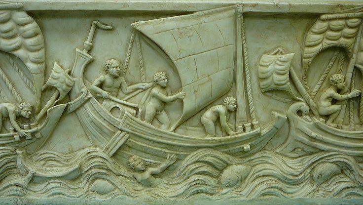File:Museum für Antike Schifffahrt, Mainz 02. Spritsail.jpg