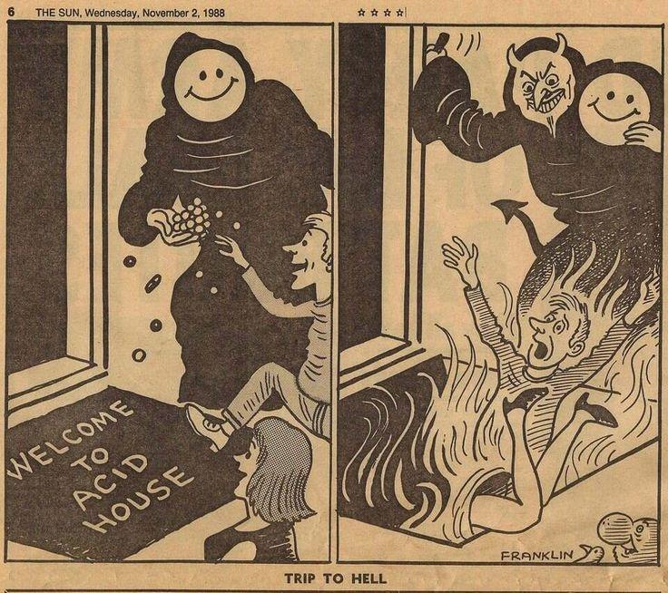 Trip to Hell - acid house 1988