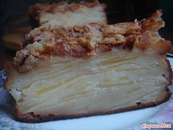 Яблочный пирог от леди, которая продает яблоки на авеню де Бретейль