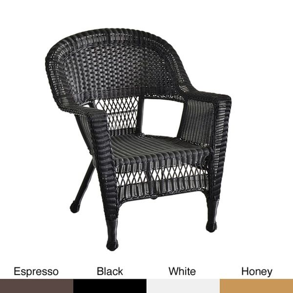 Wicker Patio Chairs (Set of 4)