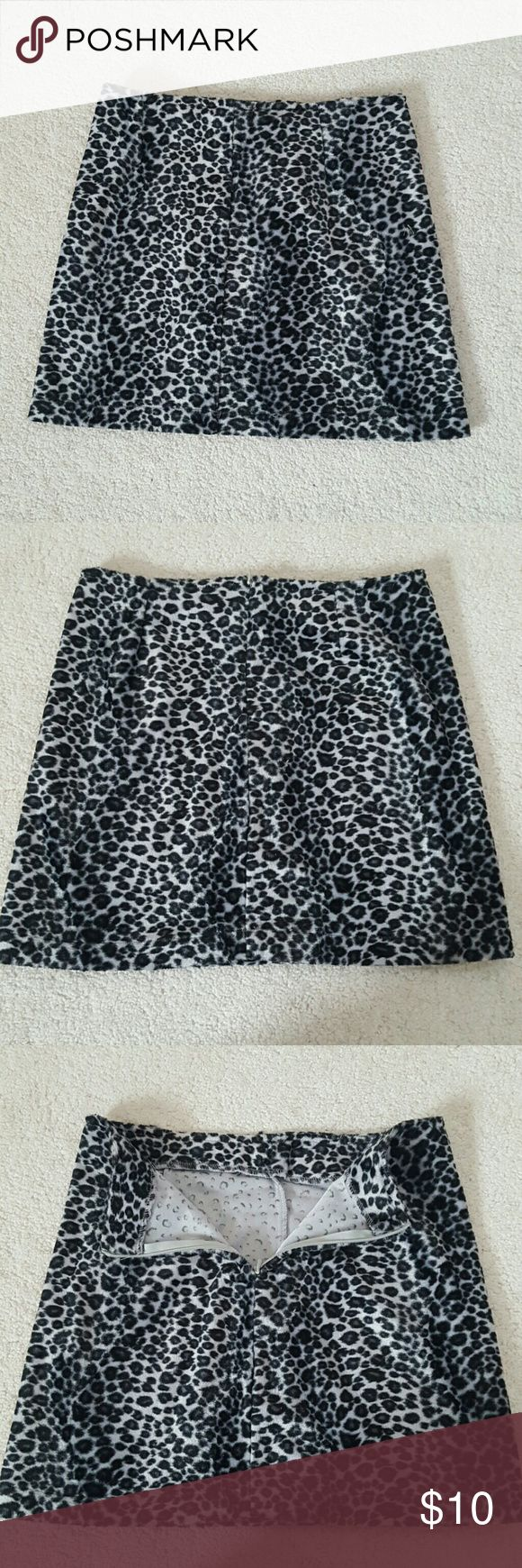 Limited Too animal print skirt Girls Size 10 limited Too animal print mini skirt..faux fur fabric..zipper in back so comfy and trendy perfect condition limited Too  Bottoms Skirts