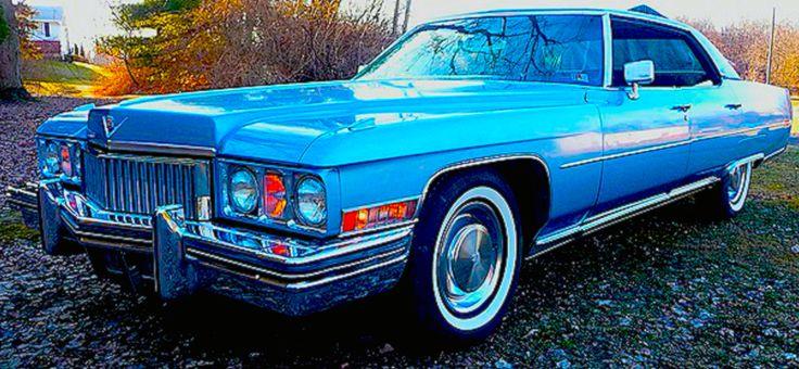 1973 Cadillac Sedan Deville Luxury Cars Of My Generation